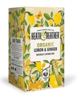 Herbata ekologiczna Lemon & Ginger 30 g - Heath & Heather